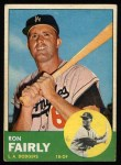 1963 Topps #105 YEL Ron Fairly  Front Thumbnail