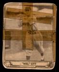 1940 Play Ball #88  Mel Ott  Front Thumbnail