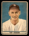 1941 Play Ball #46  Sid Hudson  Front Thumbnail
