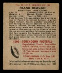 1948 Bowman #55  Frank Reagan  Back Thumbnail