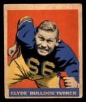 1949 Leaf #150  Bulldog Turner  Front Thumbnail