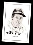 1950 Callahan Hall of Fame #31  Jimmie Foxx  Front Thumbnail
