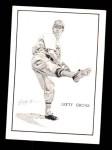 1950 Callahan Hall of Fame #36  Lefty Grove  Front Thumbnail