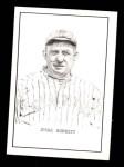 1950 Callahan Hall of Fame #10  Jesse Burkett  Front Thumbnail