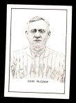 1950 Callahan Hall of Fame #55  John McGraw  Front Thumbnail