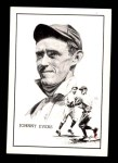 1950 Callahan Hall of Fame #29  Johnny Evers  Front Thumbnail