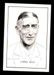 1950 Callahan Hall of Fame #50  Connie Mack  Front Thumbnail