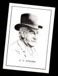 1950 Callahan Hall of Fame #67  A.G. Spalding  Front Thumbnail