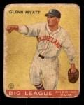 1933 Goudey #10  Glenn Myatt  Front Thumbnail