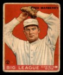 1933 Goudey #104  Fred Marberry  Front Thumbnail