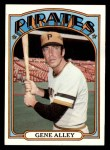 1972 Topps #286  Gene Alley  Front Thumbnail