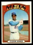 1972 Topps #31  Cleon Jones  Front Thumbnail