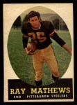 1958 Topps #78  Ray Mathews  Front Thumbnail