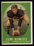 1958 Topps #103  Jim Ringo  Front Thumbnail