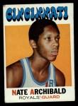 1971 Topps #29  Nate Archibald   Front Thumbnail