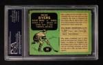 1970 O-Pee-Chee #160  Mike Byers  Back Thumbnail