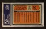 1972 Topps #760  Bill Mazeroski  Back Thumbnail