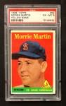 1958 Topps #53 *YN* Morrie Martin  Front Thumbnail