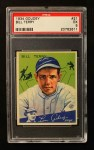 1934 Goudey #21  Bill Terry  Front Thumbnail