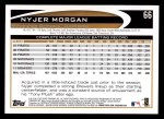 2012 Topps #66  Nyjer Morgan  Back Thumbnail