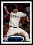 2012 Topps #8  Mike Adams  Front Thumbnail