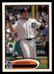 2012 Topps #54  Jhonny Peralta  Front Thumbnail
