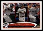 2012 Topps #33   -  Curtis Granderson / Robinson Cano / Adrian Gonzalez AL RBI Leaders Front Thumbnail