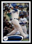 2012 Topps #39  James Loney  Front Thumbnail