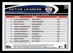 2012 Topps #29   -  Livan Hernandez / Roy Oswalt / Randy Wolf Active NL Wins Leaders Back Thumbnail