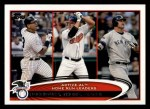 2012 Topps #91   -  Alex Rodriguez / Jim Thome / Jason Giambi Active AL HR Leaders Front Thumbnail