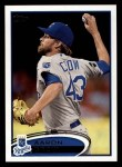 2012 Topps #67  Aaron Crow  Front Thumbnail
