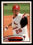 2012 Topps #26  Kyle Lohse  Front Thumbnail