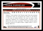 2012 Topps #95  Chris Parmelee  Back Thumbnail