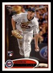 2012 Topps #95  Chris Parmelee  Front Thumbnail