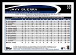 2012 Topps #88  Javy Guerra  Back Thumbnail
