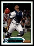 2012 Topps #118  Miguel Olivo  Front Thumbnail