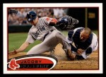 2012 Topps #170  Jacoby Ellsbury  Front Thumbnail