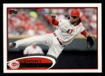 2012 Topps #135  Johnny Cueto  Front Thumbnail