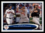 2012 Topps #159   -  Chipper Jones / Albert Pujols / Todd Helton Active NL RBI Leaders Front Thumbnail