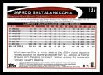 2012 Topps #137  Jarrod Saltalamacchia  Back Thumbnail