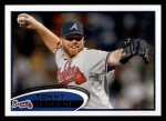 2012 Topps #115  Tommy Hanson  Front Thumbnail