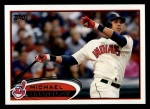 2012 Topps #182  Michael Brantley  Front Thumbnail