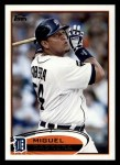2012 Topps #200  Miguel Cabrera  Front Thumbnail