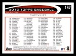2012 Topps #167   -  Starlin Castro Record Breaker Back Thumbnail