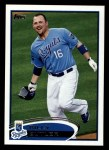 2012 Topps #145  Billy Butler  Front Thumbnail