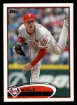 2012 Topps #190  Cole Hamels  Front Thumbnail