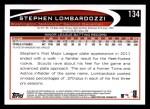 2012 Topps #134  Stephen Lombardozzi  Back Thumbnail