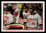 2012 Topps #125  Adam Jones  Front Thumbnail