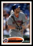 2012 Topps #240  David Wright  Front Thumbnail