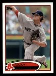 2012 Topps #247  Clay Buchholz  Front Thumbnail
